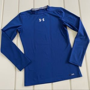 Under Armour Heat Gear Fitted Long Sleeve Top L